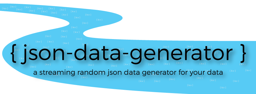 Introducing a Streaming Json Data Generator