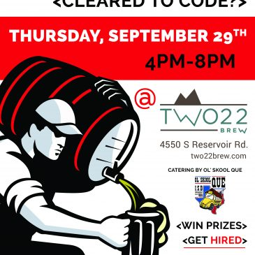 ACES, Inc. Hiring Event Thursday 29 Sept at Two22 Brew
