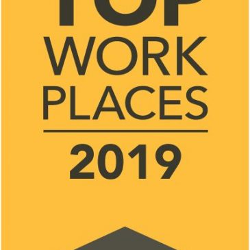ACES Inc., a Top Work Place 2019 Winner!